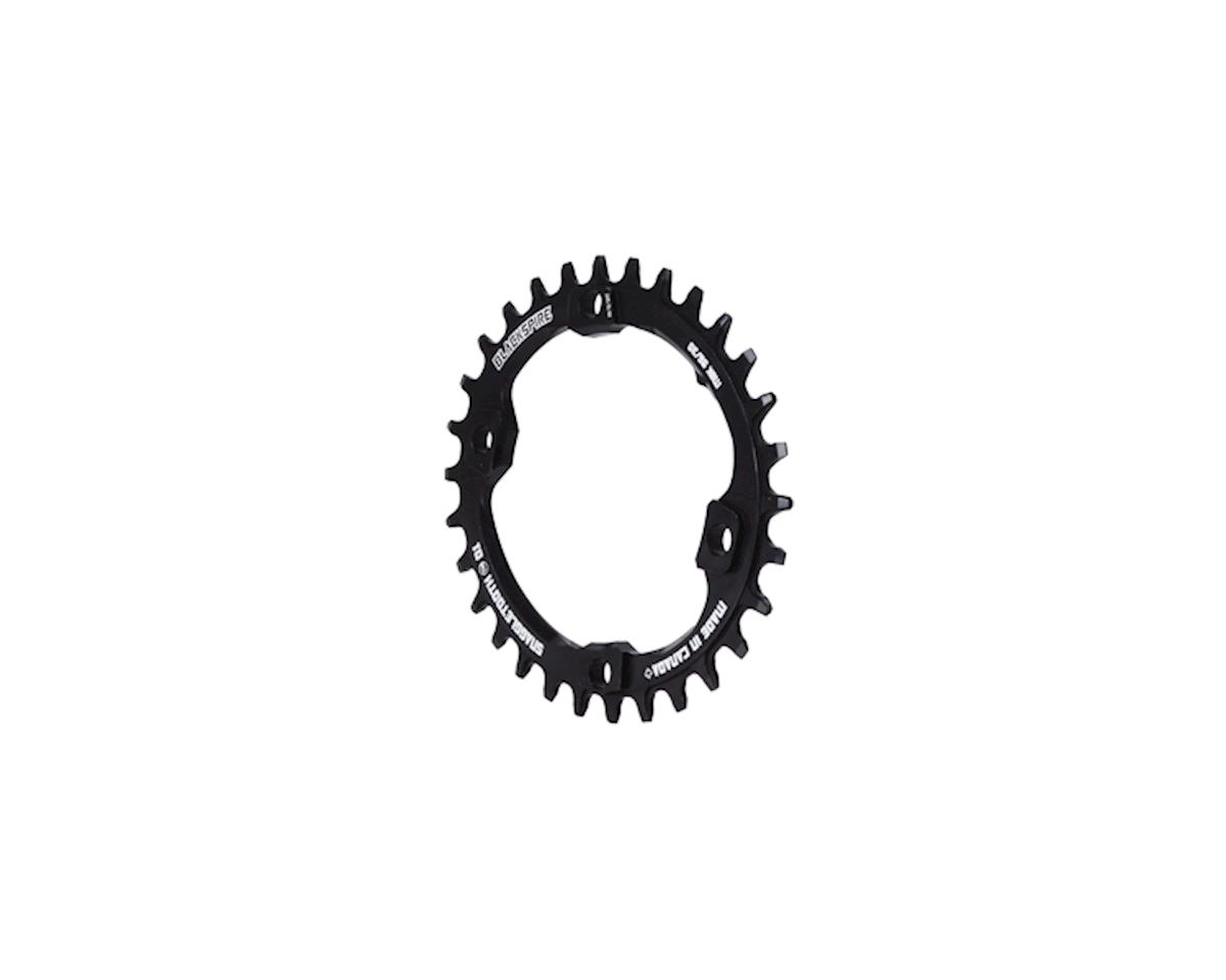 Snaggletooth Oval NW Chainring (Black) (XT) (96BCD)