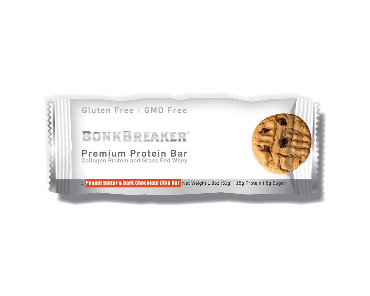 Bonk Breaker Premium Protein Bar (Peanut Butter & Dark Chocolate Chip) (12)