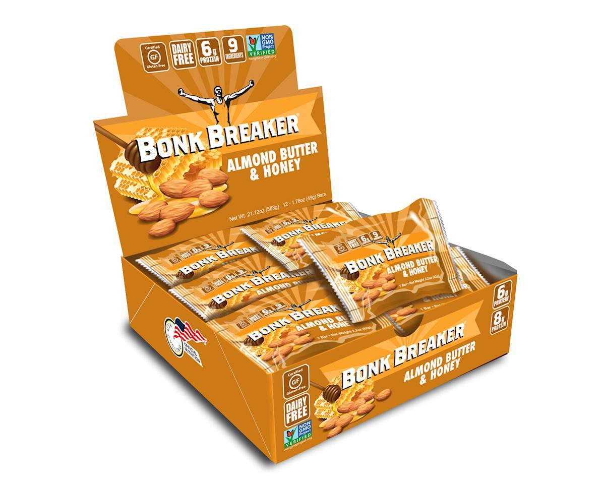 Bonk Breaker Premium Performance Bar (Almond Buttery & Honey) (12)