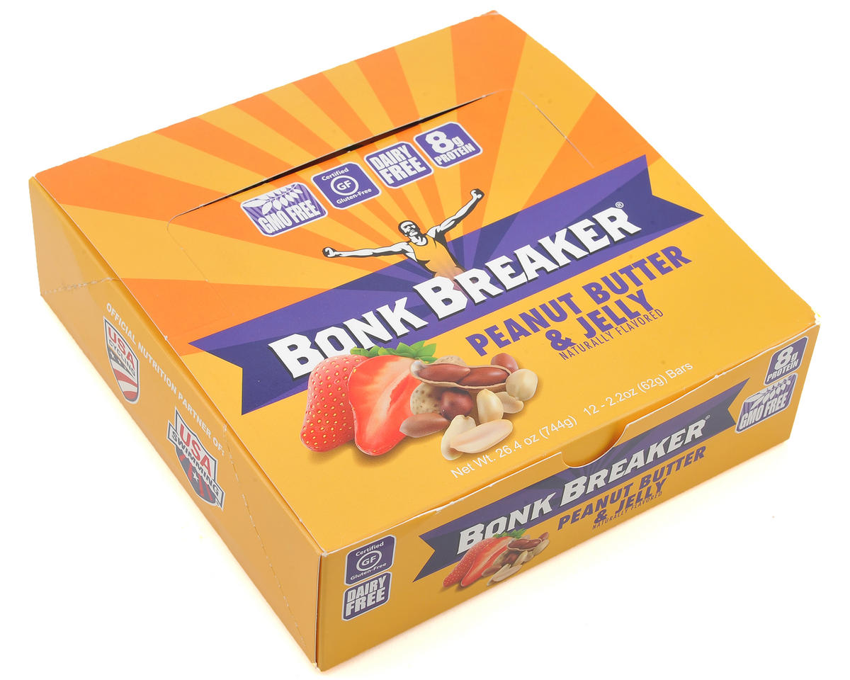 Bonk Breaker Energy Bar (Peanut Butter & Jelly) (Box of 12)