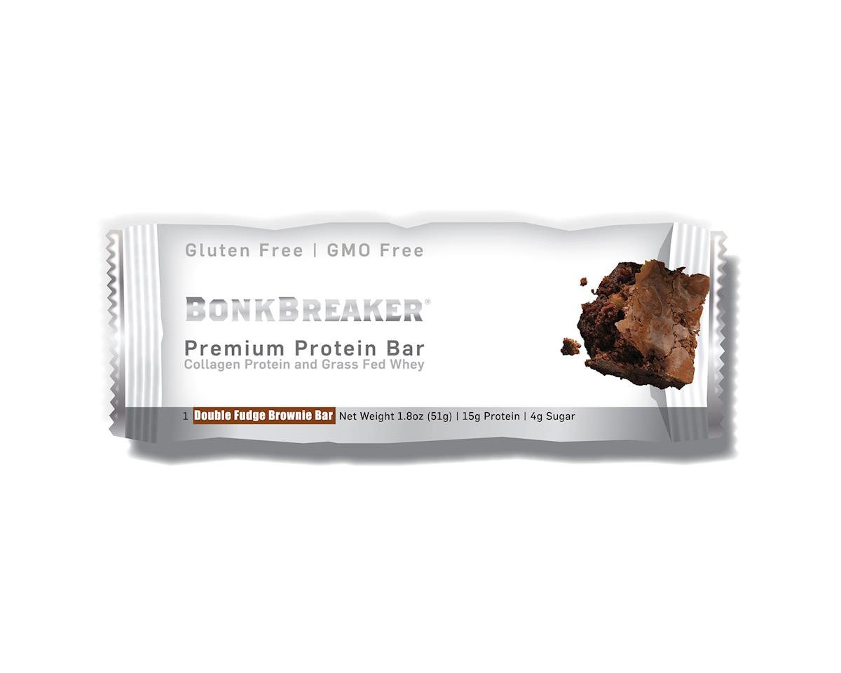 Premium Protein Bar: Double Fudge Brownie, Box of 12