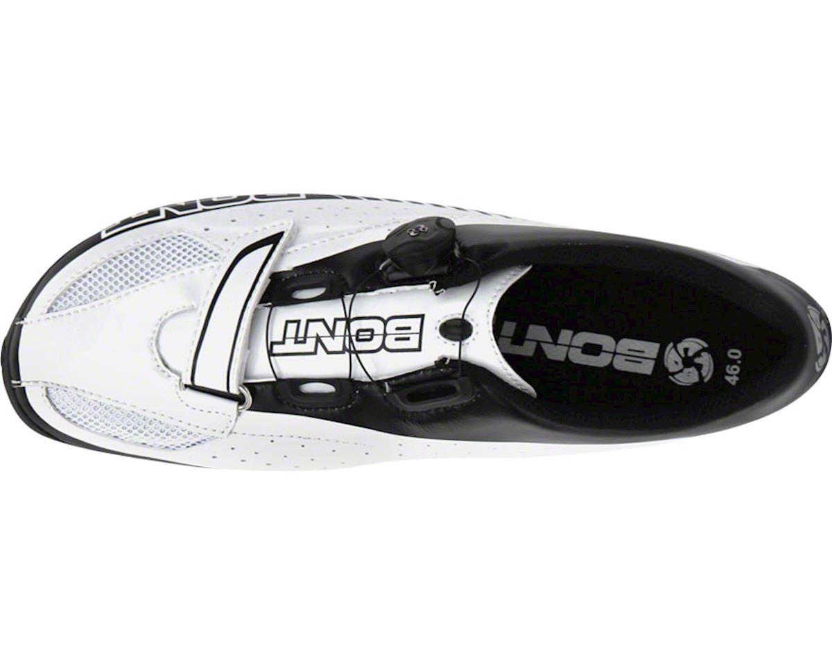 Bont Blitz Cycling Road Shoe (White/Black) (37)