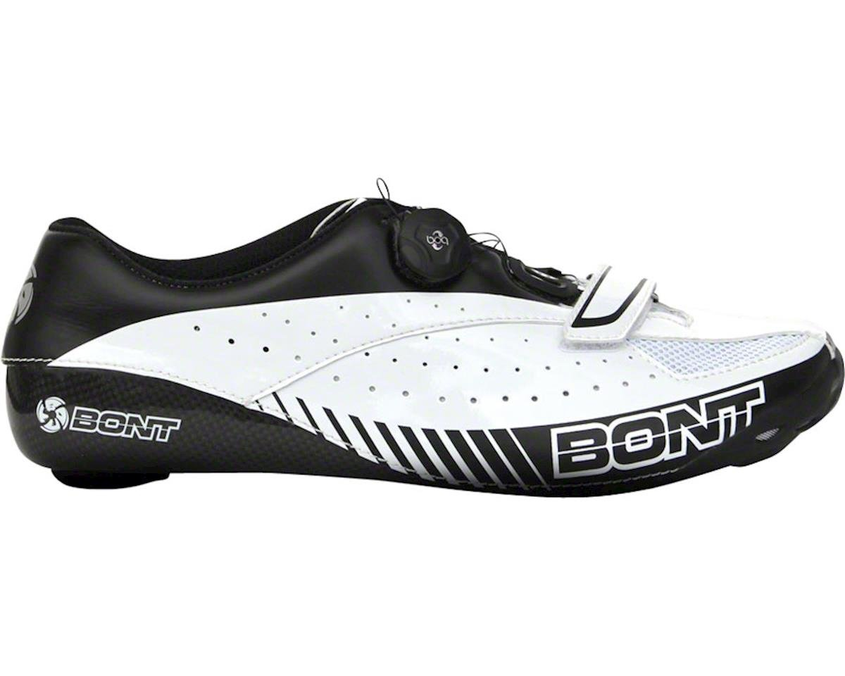 Bont Blitz Cycling Road Shoe (White/Black) (44)