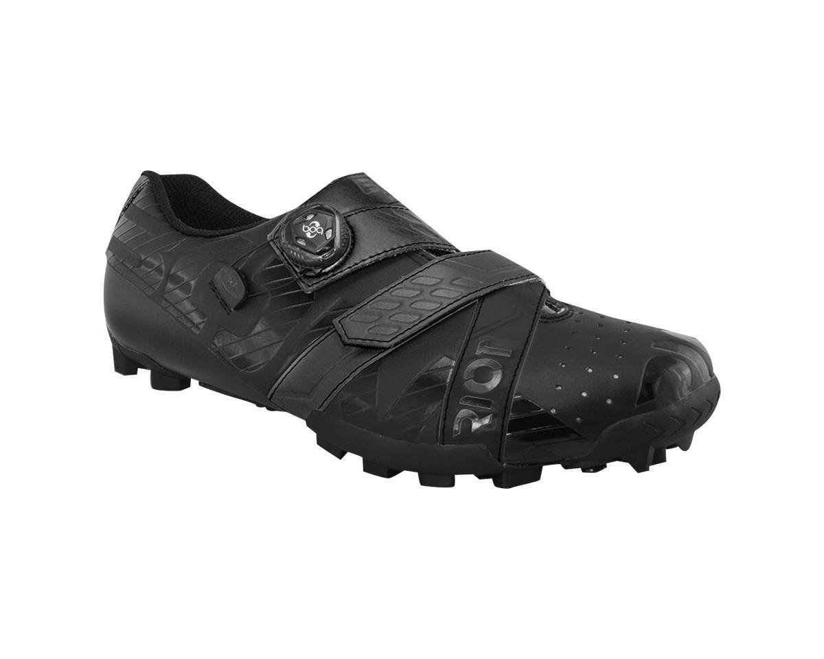 Bont Riot MTB+ BOA Cycling Shoe (Black) (42 Wide)