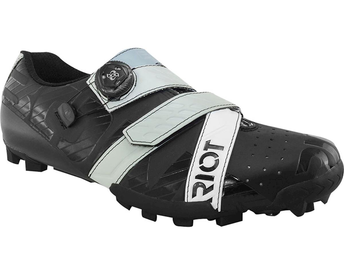 Bont Riot MTB+ BOA Cycling Shoe (Black/Grey) (42)