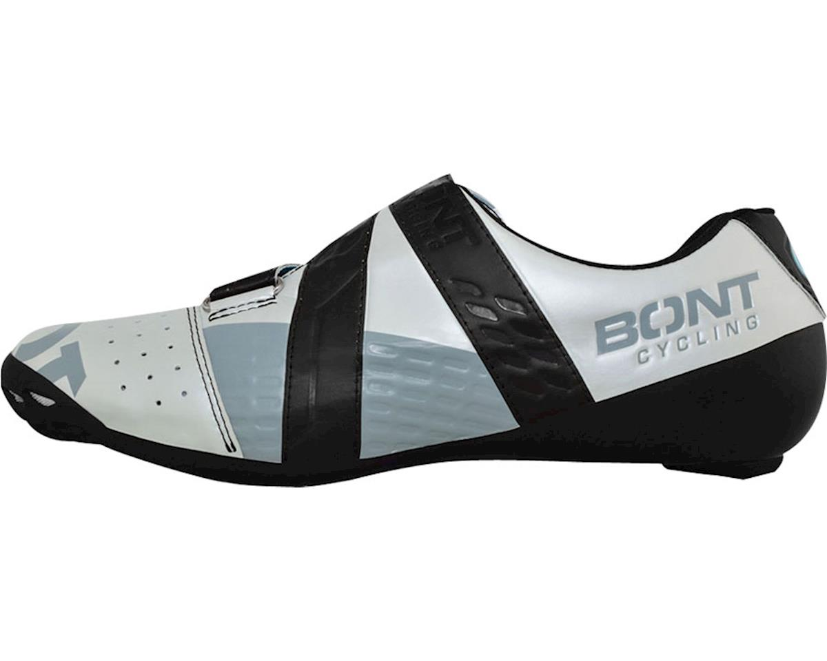 Bont Riot Road Cycling Shoe (Pearl White/Black) (41)