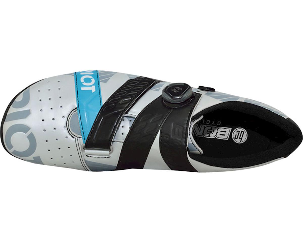 Bont Riot Road Cycling Shoe (Pearl White/Black) (44.5)