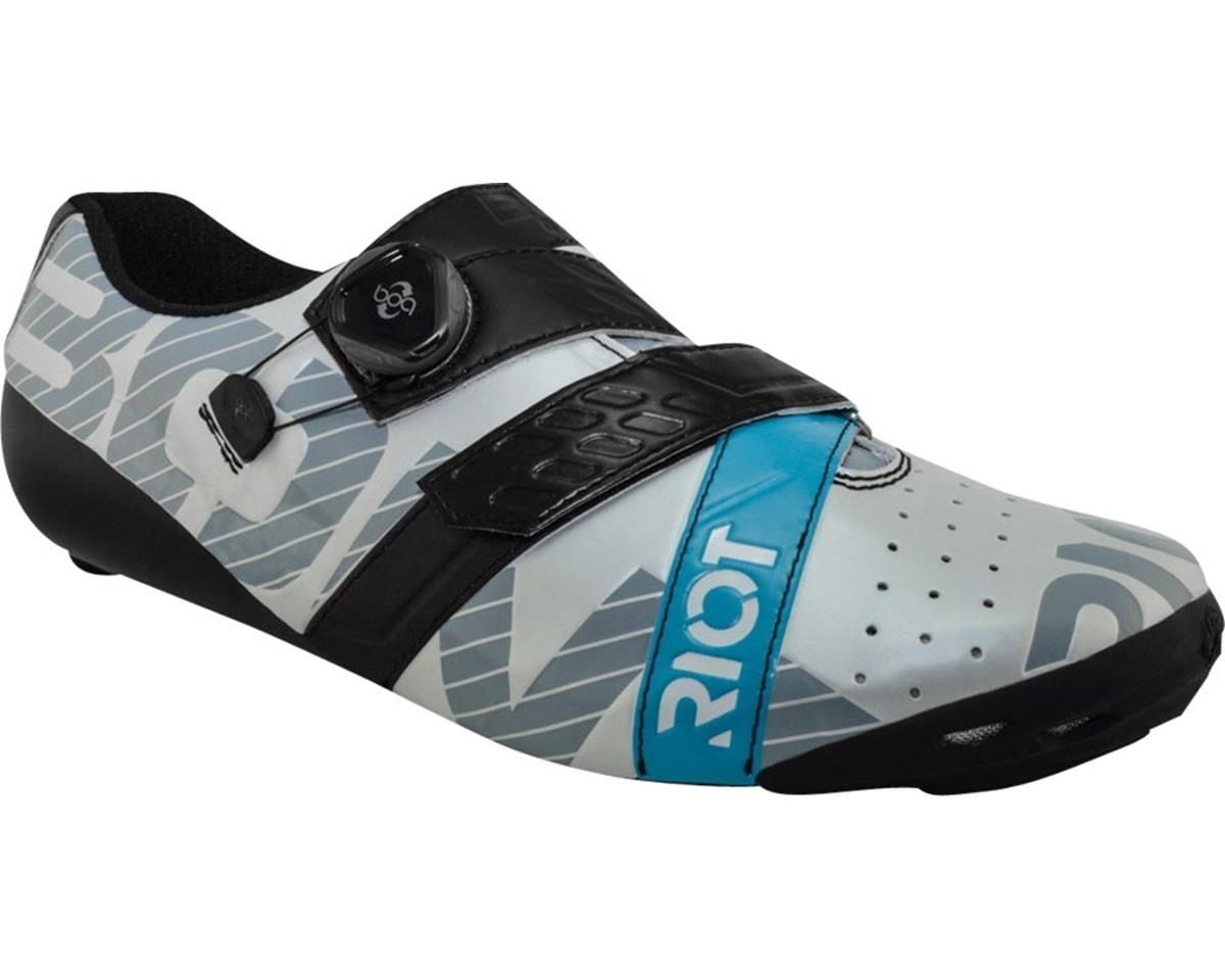 Bont Riot Road Cycling Shoe (Pearl White/Black) (44)