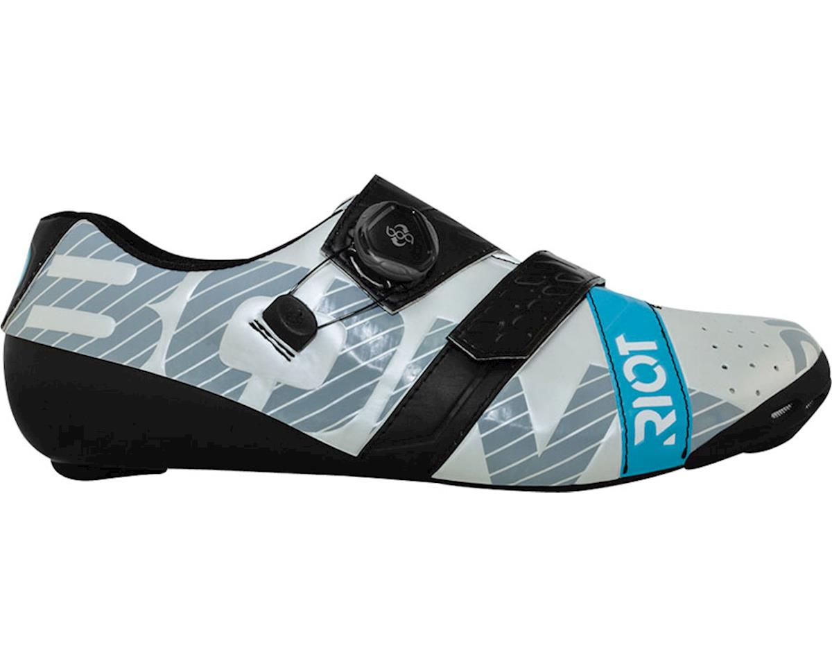 Image 2 for Bont Riot Road Cycling Shoe (Pearl White/Black) (44)