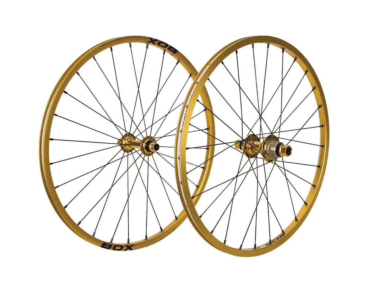 "Box Mini Cassette Wheels (Gold) (28 Hole) (20 x 1-1/8"")"