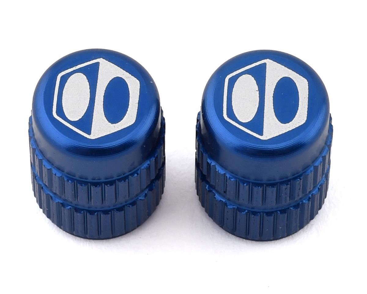 Box Schrader Valve Cap (Blue)