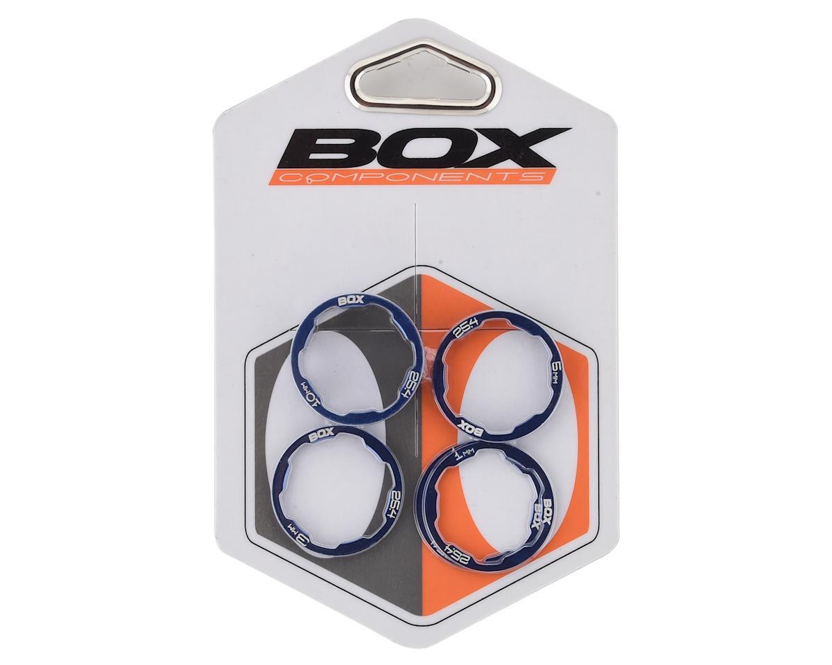 Box Zero Stem Spacer Kit (Blue) (5)