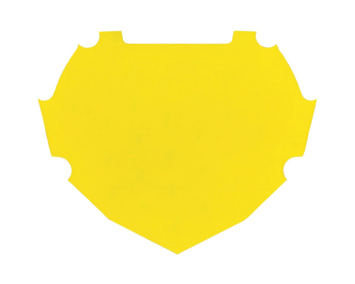 Box Number Plate Decal (Yellow)