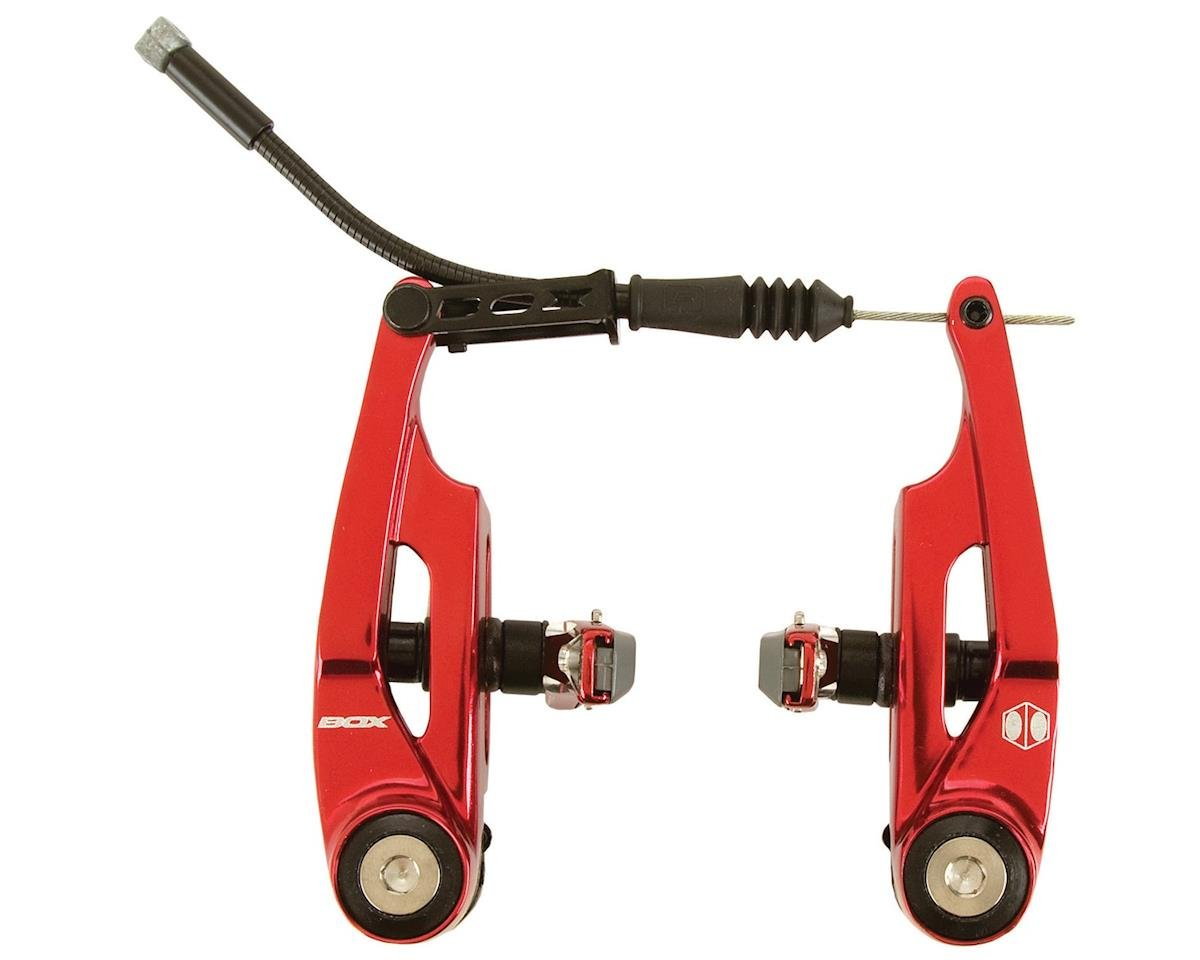 Box Components Eclipse Linear Pull Brake (Red) (85mm Reach)