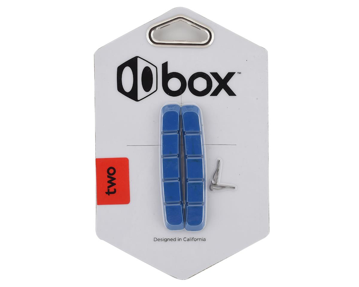 Box Two Replacement Brake Pads (70mm) (Blue)