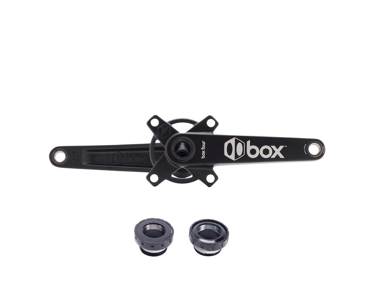 Box Four Crankset w/BB (Black) (165mm)