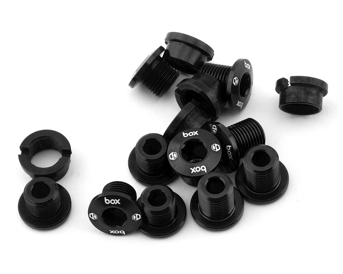 Box Components Spiral 7075 Alloy Chainring Bolt Kit (Black) (15)