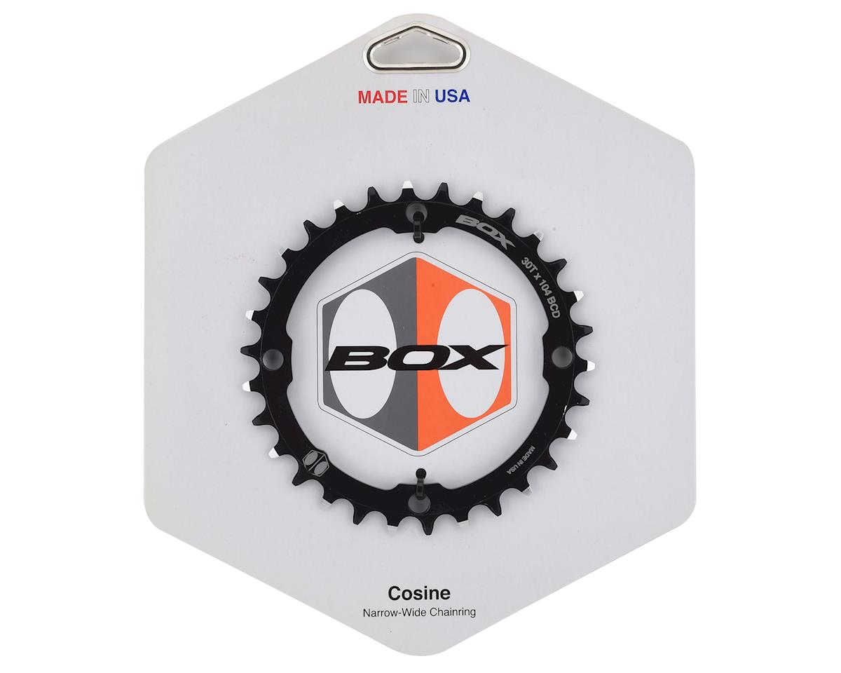 Box Components Cosine Narrow-Wide Chainring (Black) (104mm BCD)