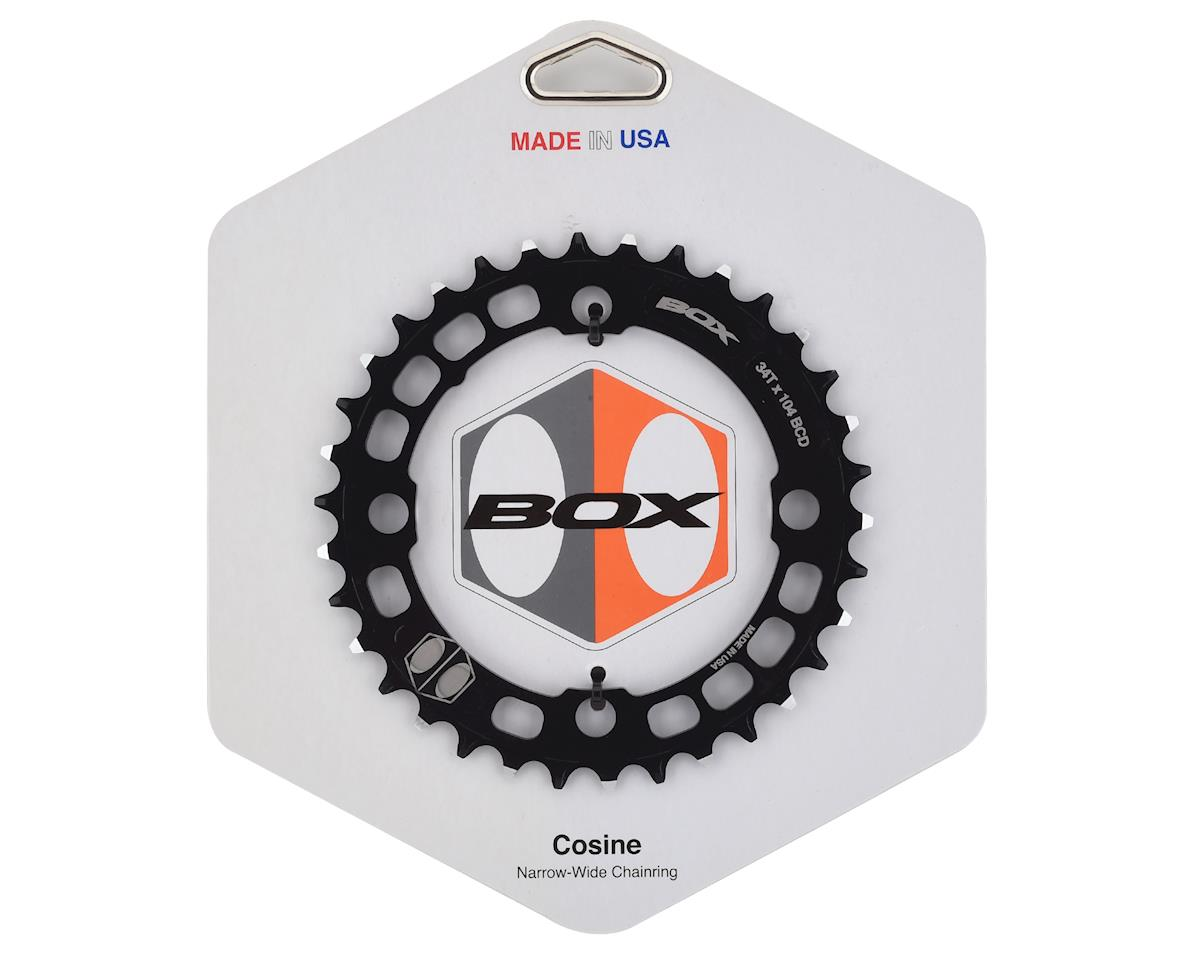 Box Components Cosine Narrow-Wide Chainring (Black) (104mm BCD) (34T)