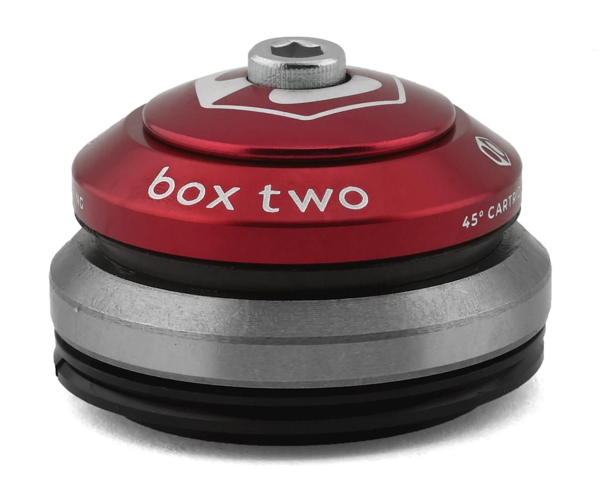 """Box Two Alloy Sealed Integrated Tapered Headset (1.5"""") (Red)"""
