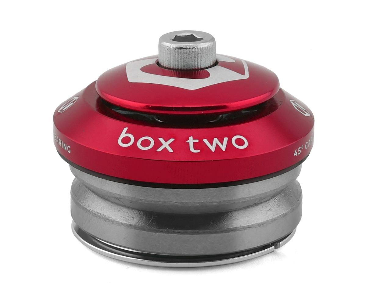 "Box Two Alloy Sealed Integrated Headset (1-1/8"") (Red)"