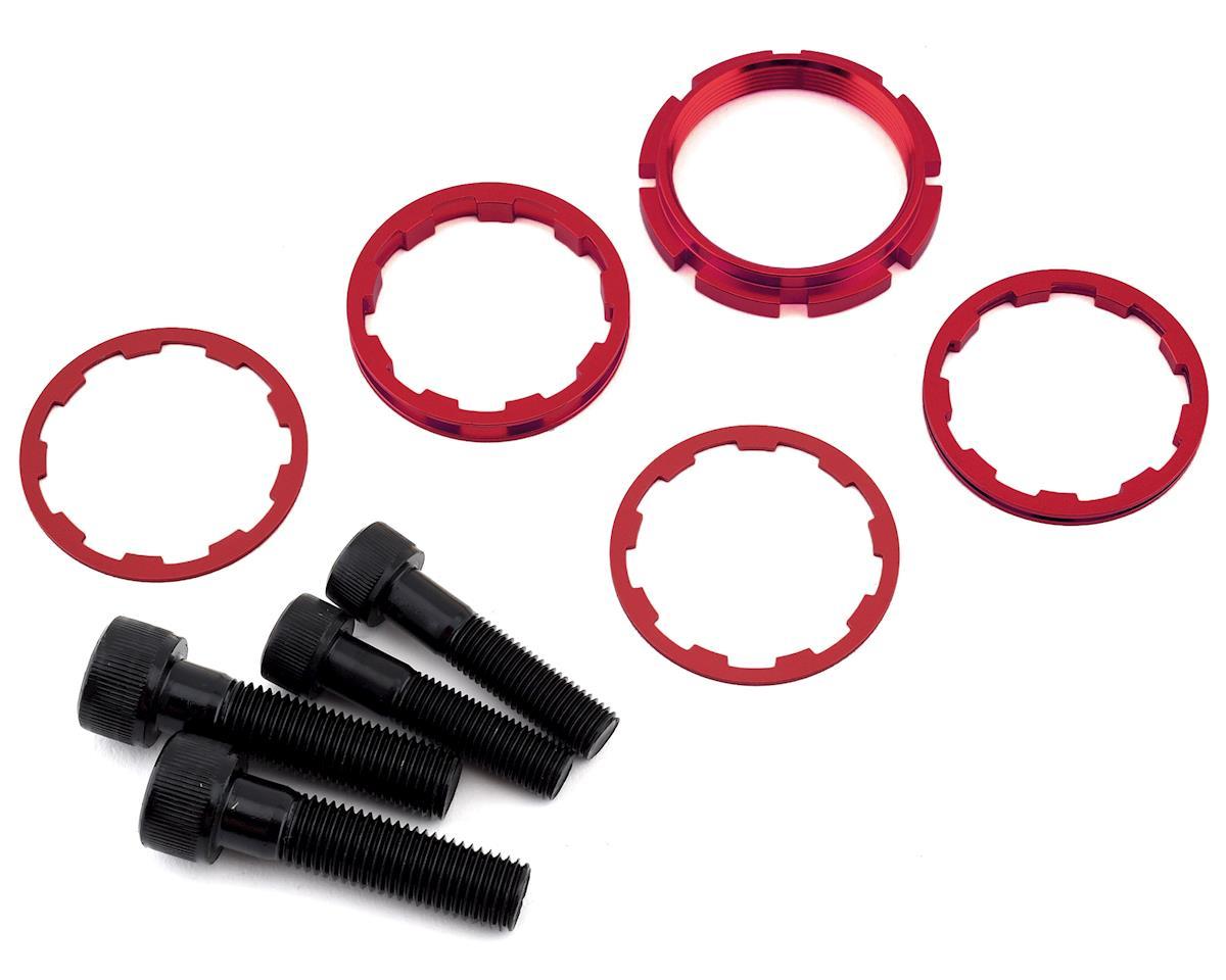 """Image 2 for Box Harmonic Mini Cassette Hubs (Red) (3/8"""")"""