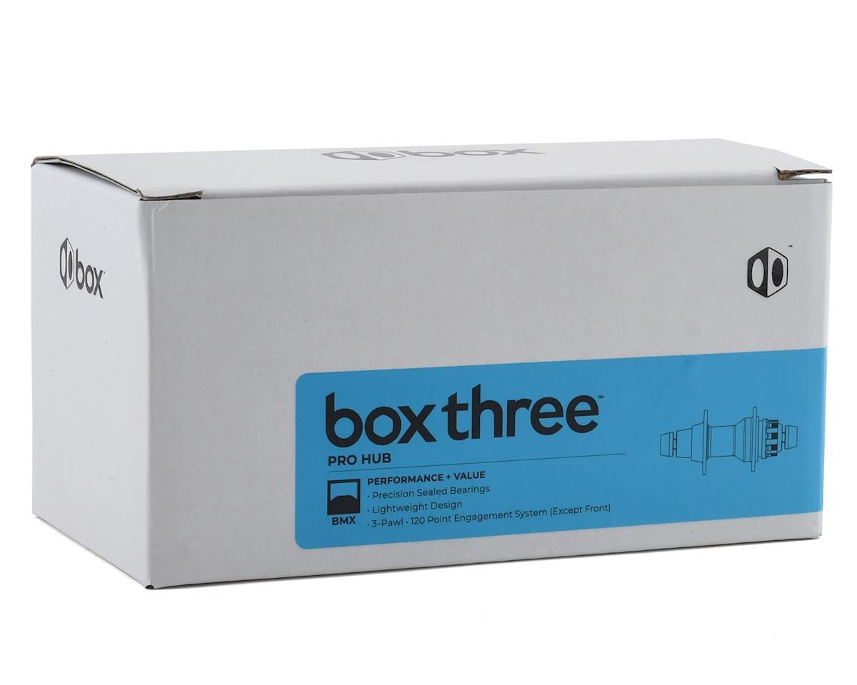 Image 2 for Box Three Pro Front Hub (10mm) (36H) (Black)