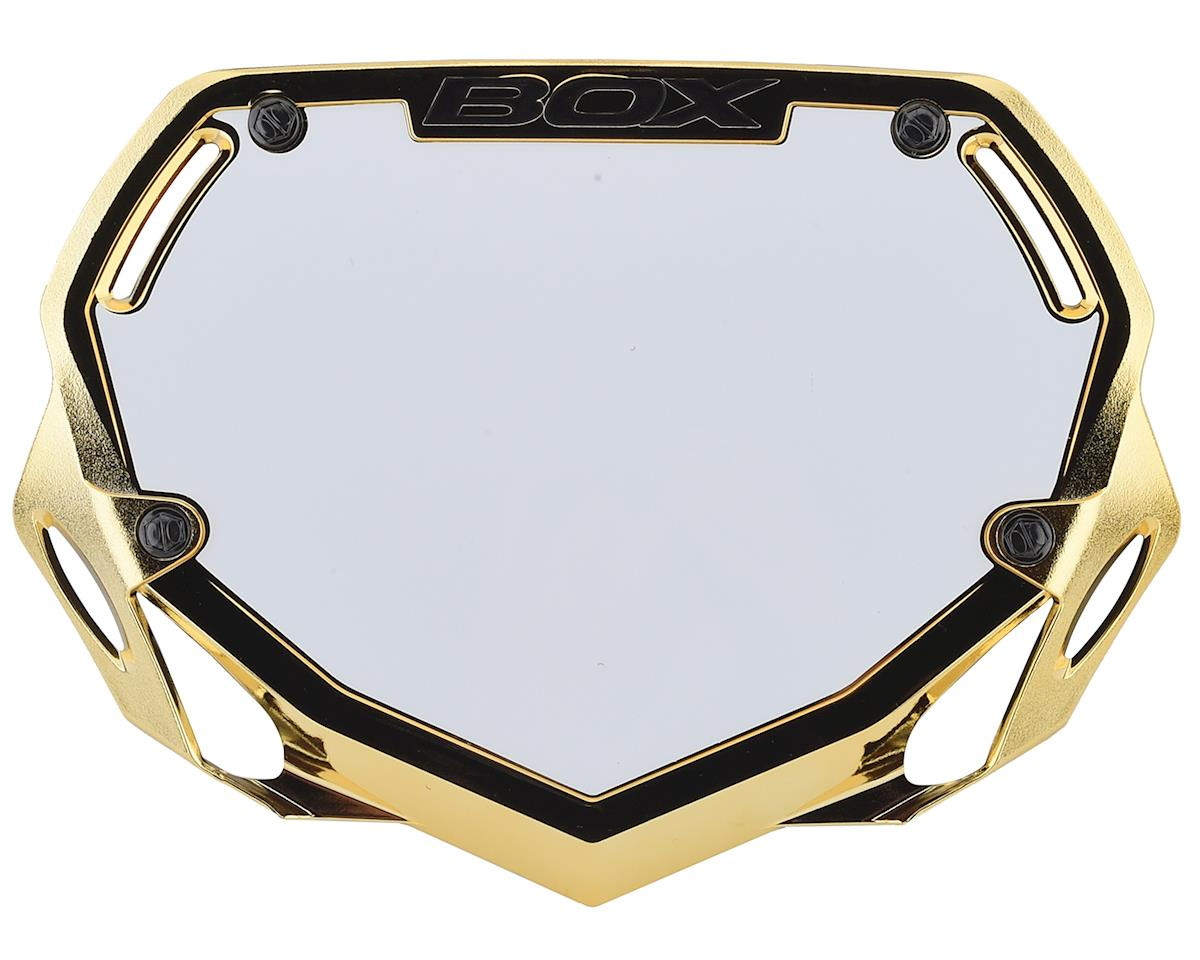 Box Two Number Plate (Gold/Chrome) (S) | alsopurchased