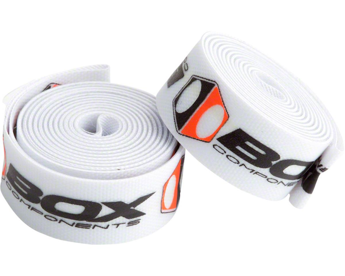 "Box Components Radian Rim Strap (White) (24"") (14mm) (Pair)"