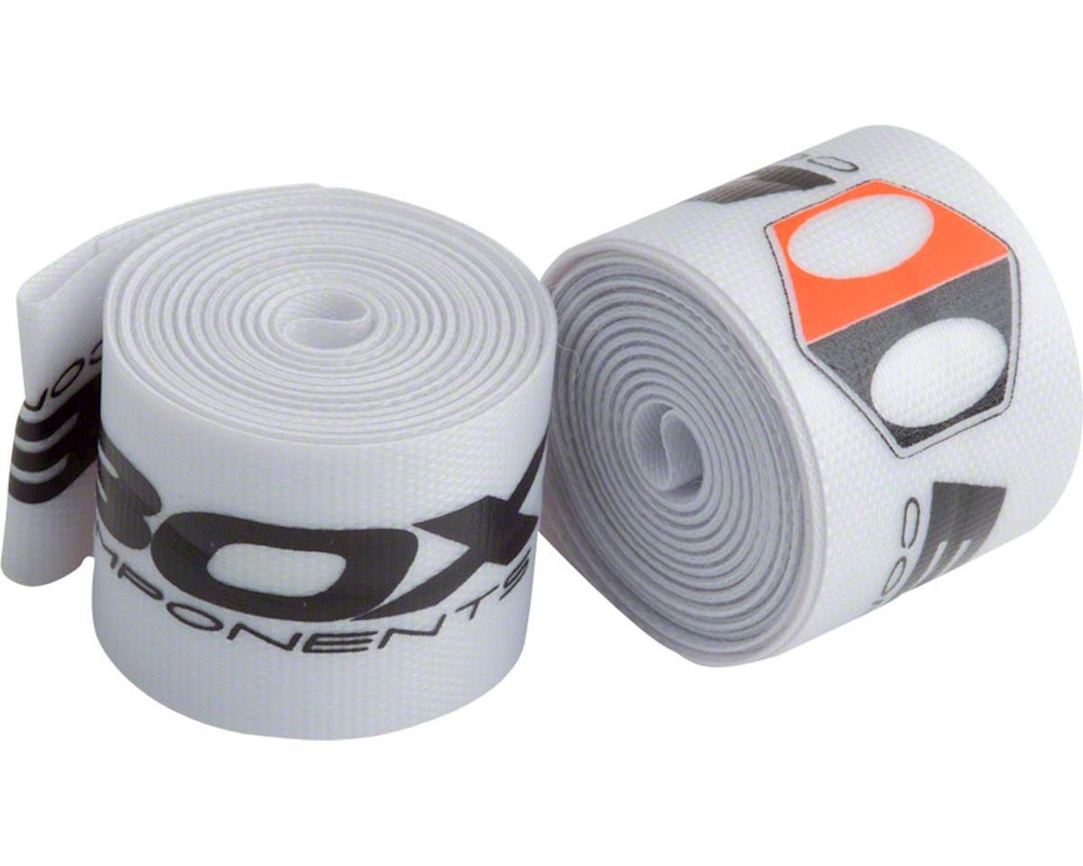 "Box Components Radian Rim Strap (White) (24"") (24mm) (Pair)"