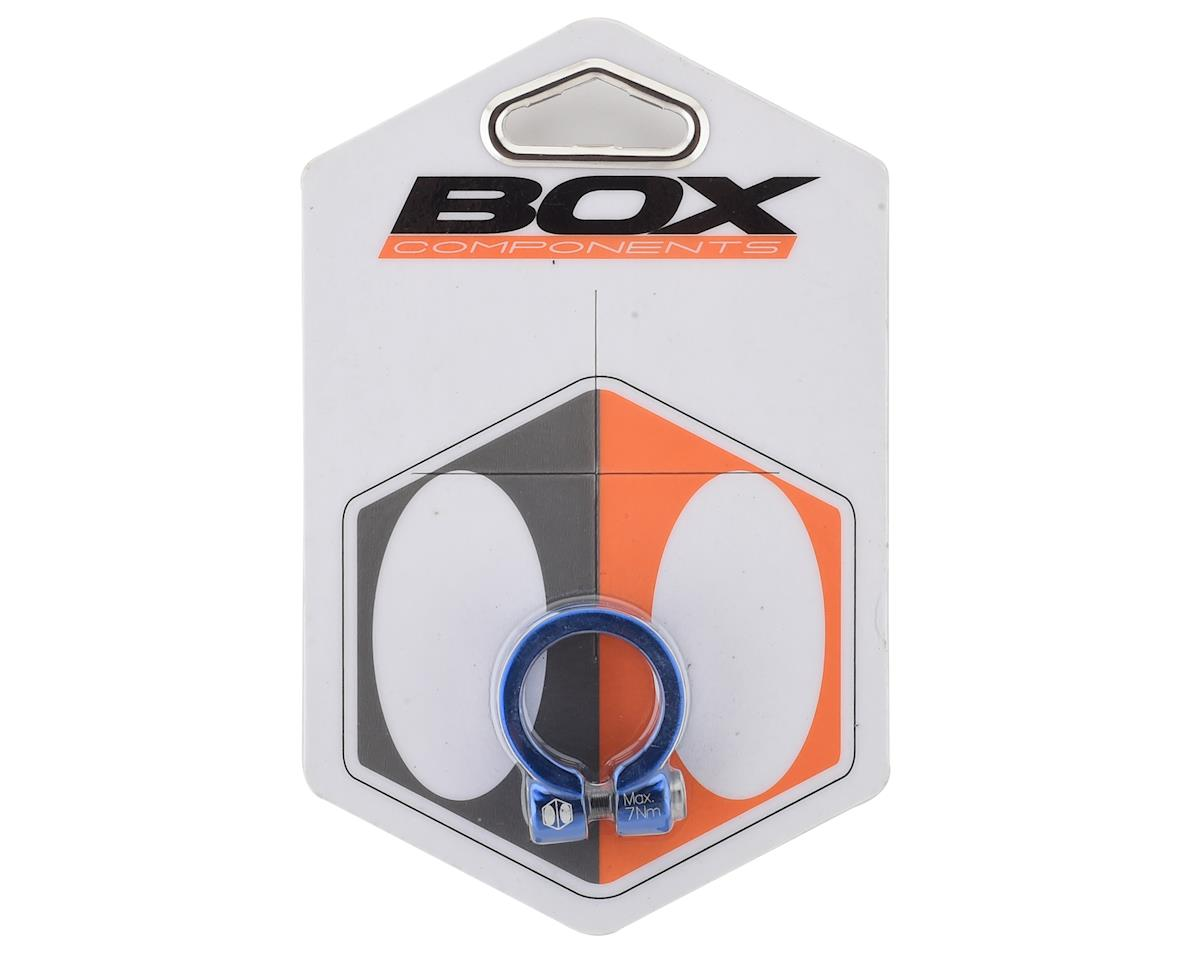 Box Helix Fixed Seat Clamp (Blue) (25.4mm)