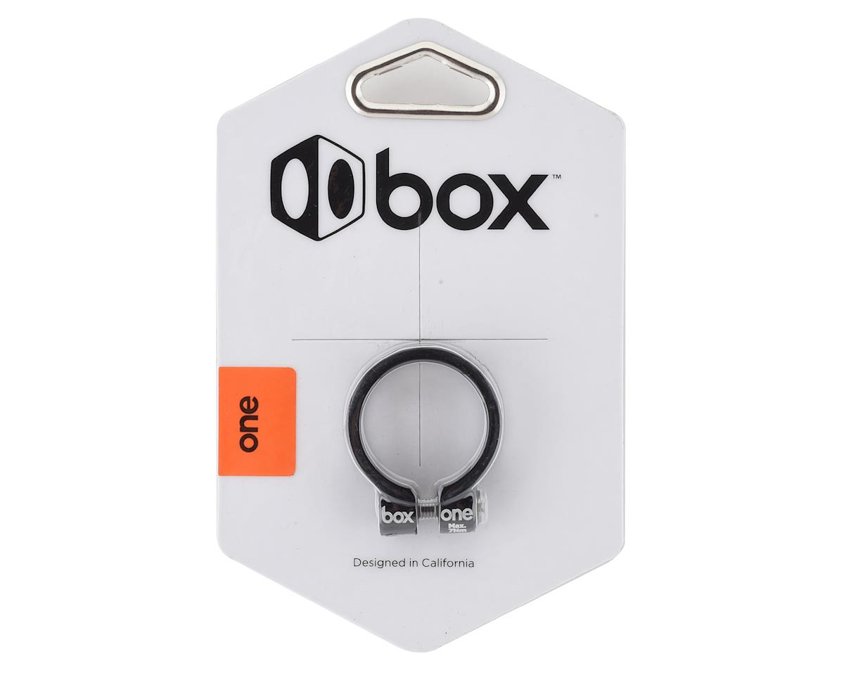 Box Helix Fixed Seat Clamp (Black) (31.8mm)
