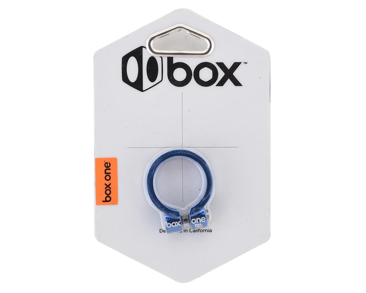 Box Helix Fixed Seat Clamp (Blue) (31.8mm)
