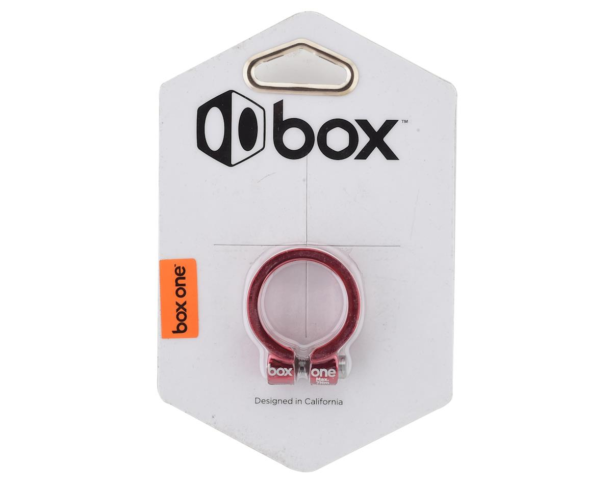 Box Helix Fixed Seat Clamp (Red) (31.8mm)