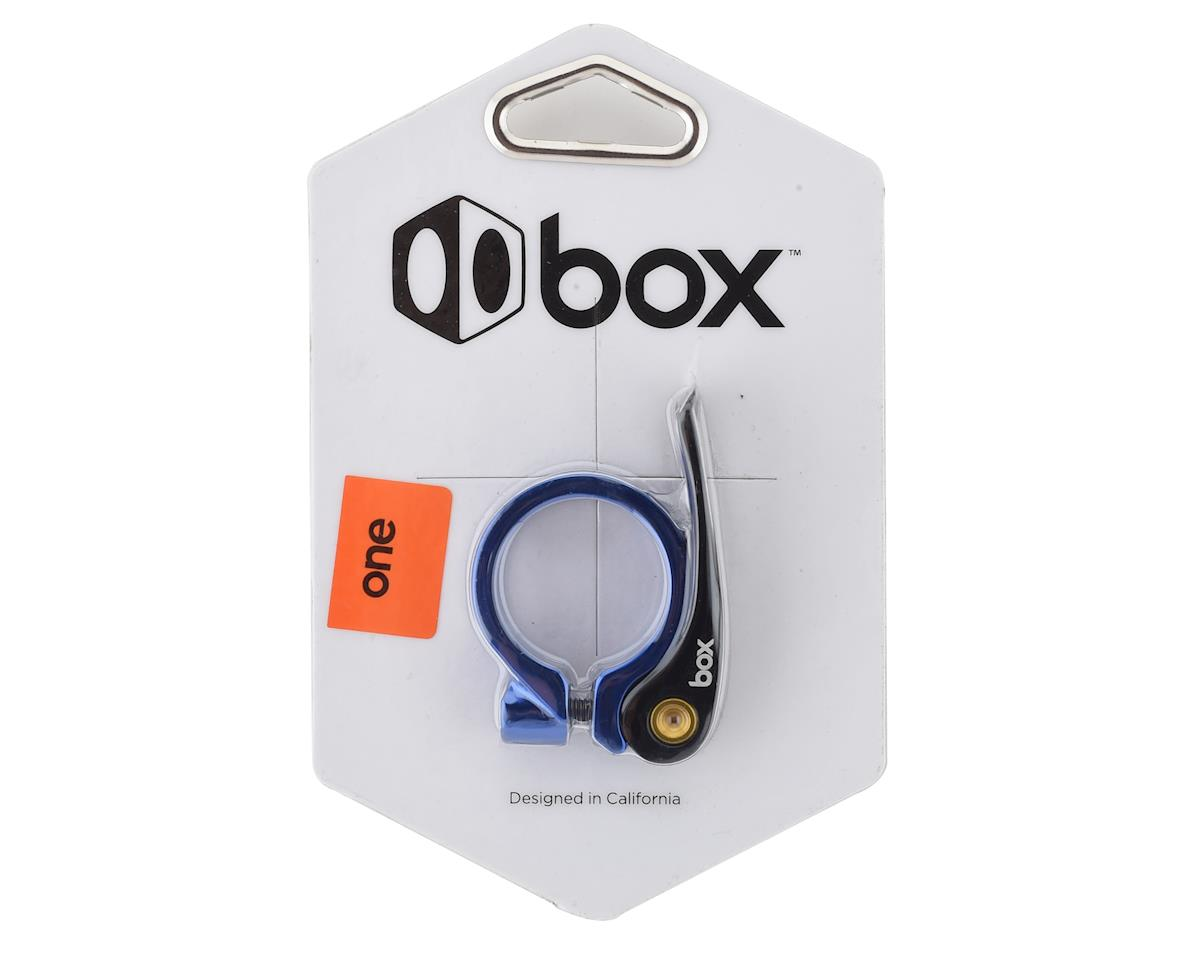 Box One Quick Release Seat Clamp (Blue) (31.8mm)