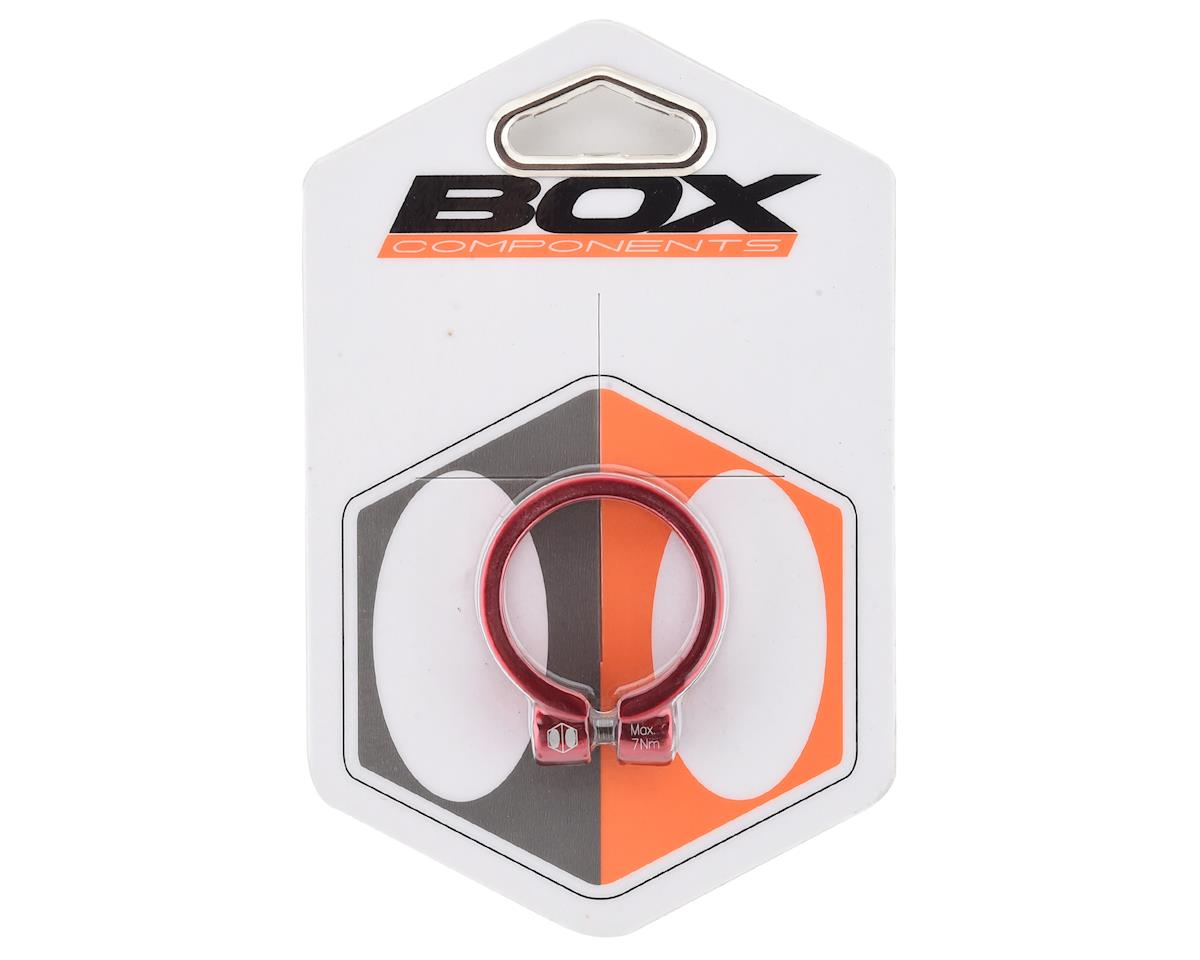 Image 1 for Box Helix Fixed Seat Clamp (Red) (34.9mm)