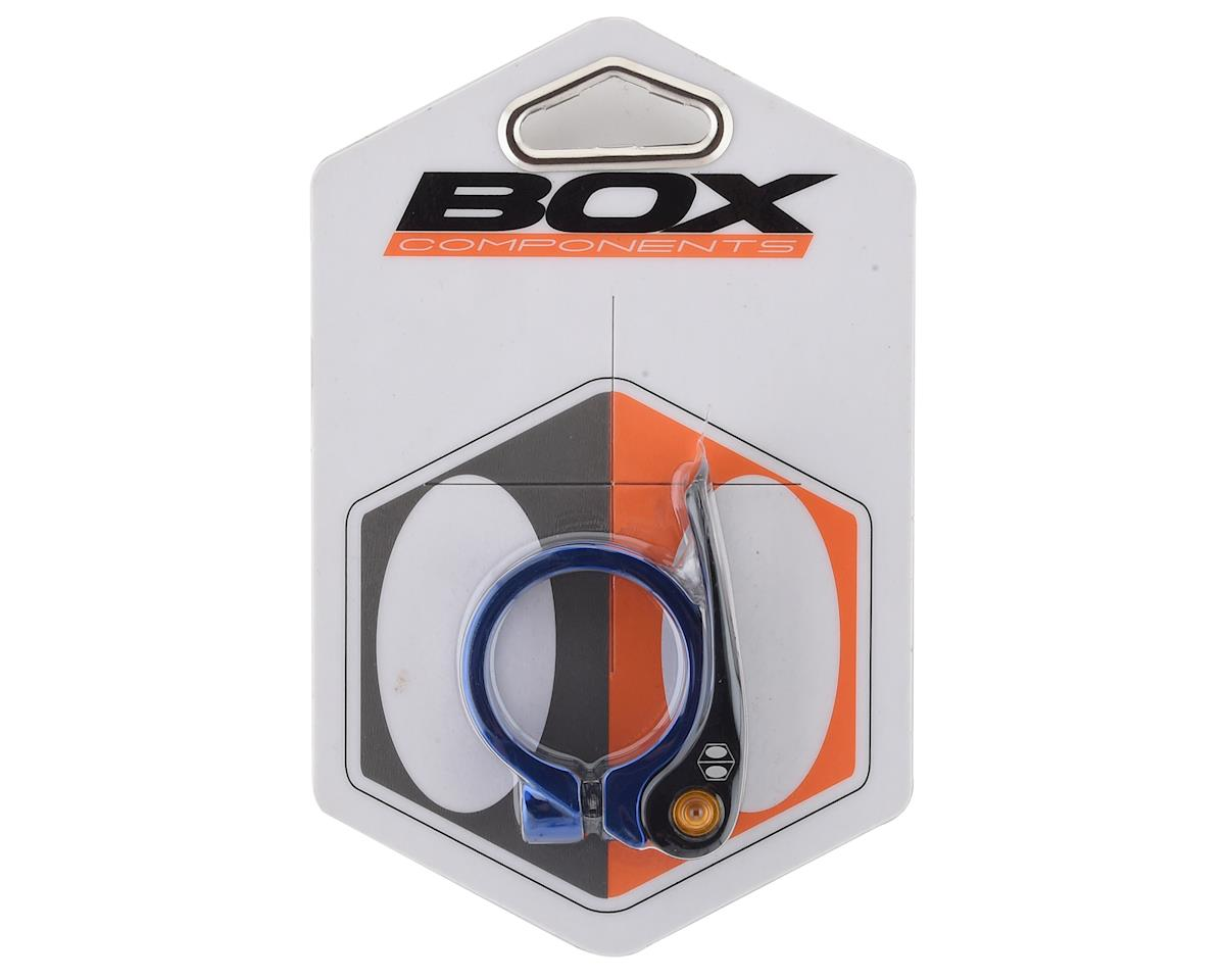 Box Components Helix Quick Release Seat Clamp (Blue) (34.9mm)