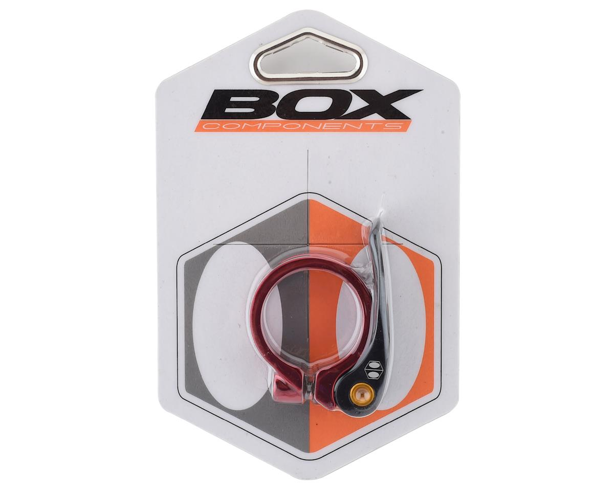 Box Helix Quick Release Seat Clamp (Red) (34.9mm)