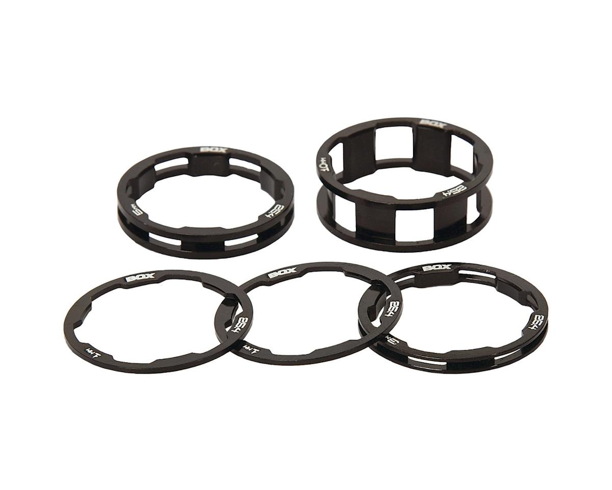 "Box Zero Stem Spacer Kit (Black) (5) (1-1/8"")"
