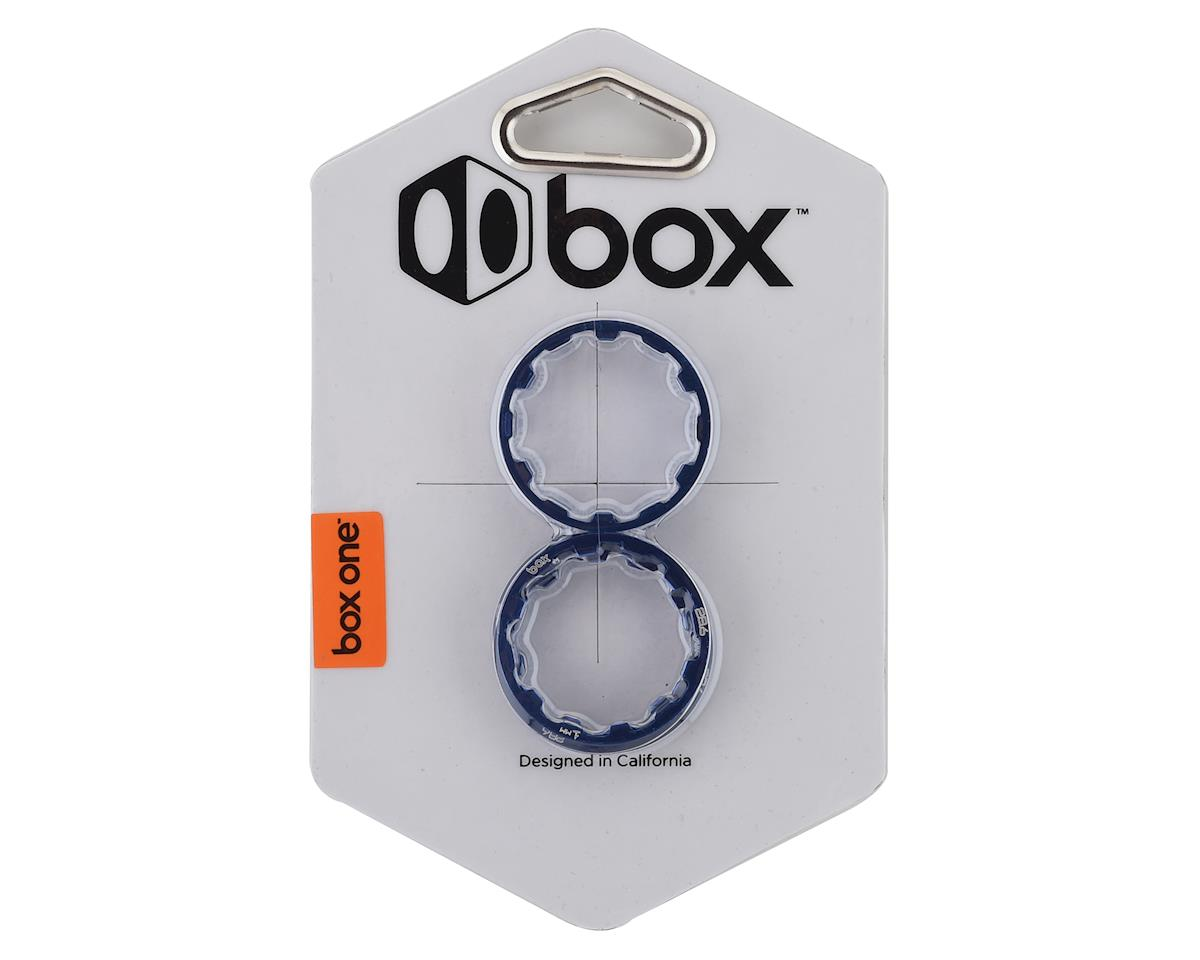 "Box One Stem Spacer Kit (1-1/8"") (Blue)"