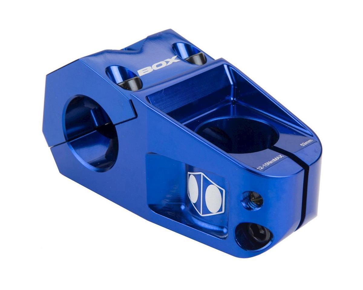 "Box Delta Top Load Stem (Blue) (1-1/8"") (31.8mm Clamp) (48mm)"