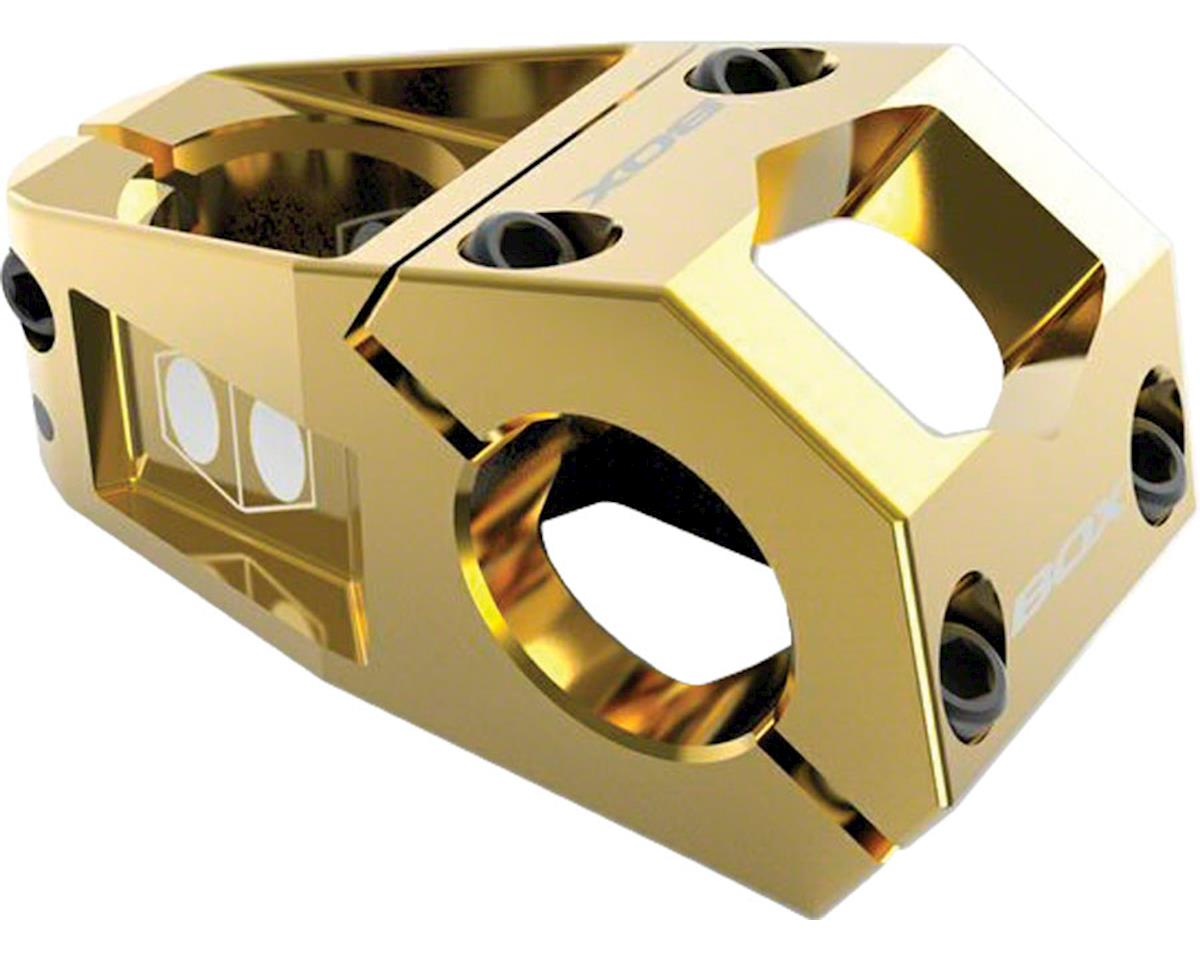 """Box Delta Top Load Stem (Gold) (1-1/8"""") (31.8mm Clamp) (48mm)"""
