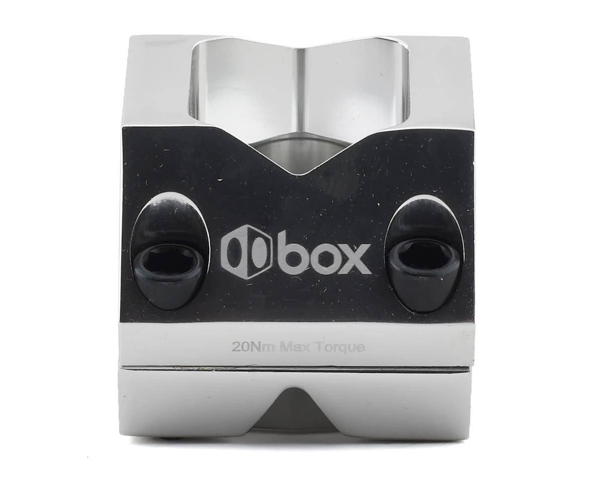"""Box Delta Top Load Stem (Sillver) (1-1/8"""") (31.8mm Clamp) (48mm)"""