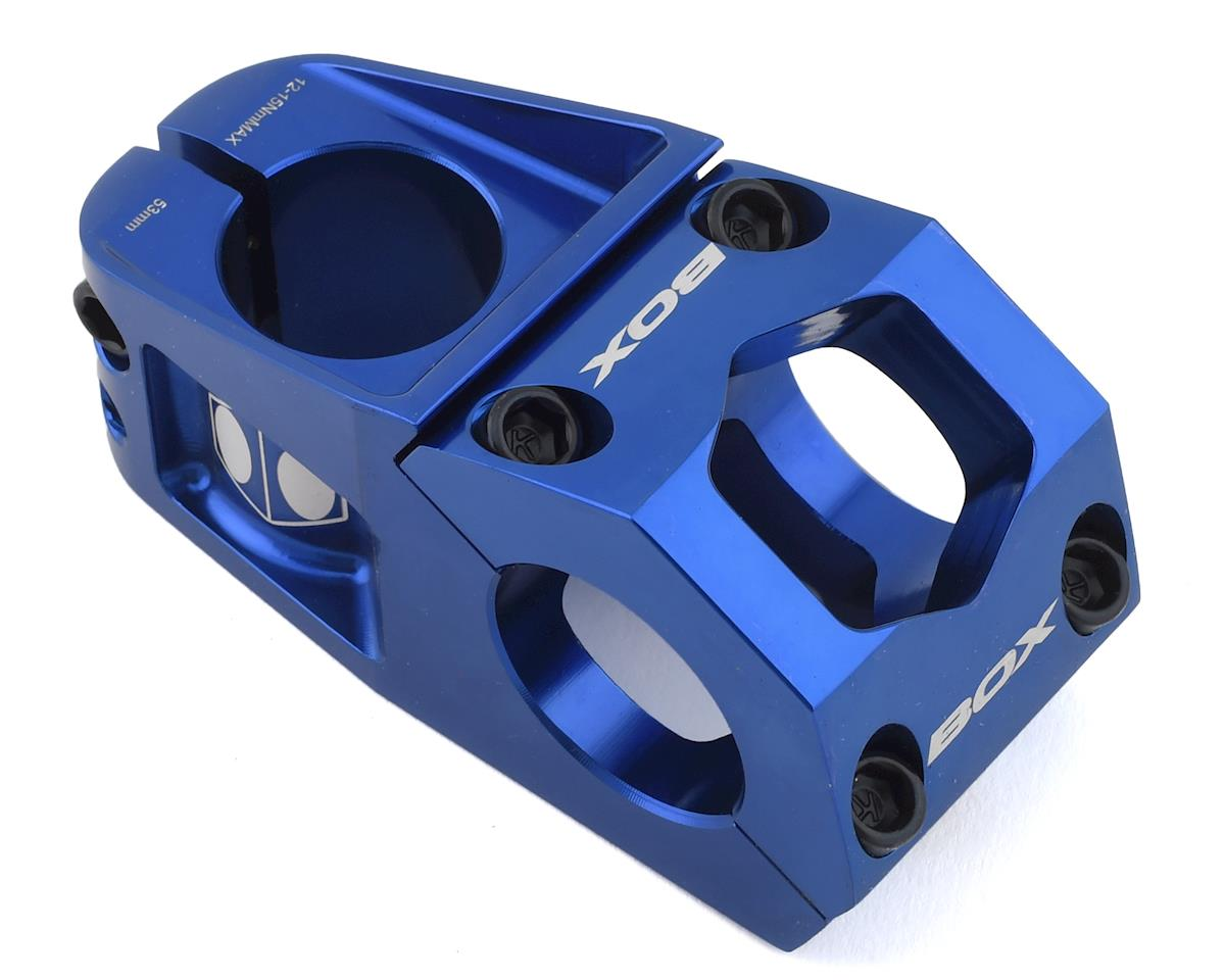 "Box Delta Top Load Stem (Blue) (1-1/8"") (31.8mm Clamp) (53mm)"