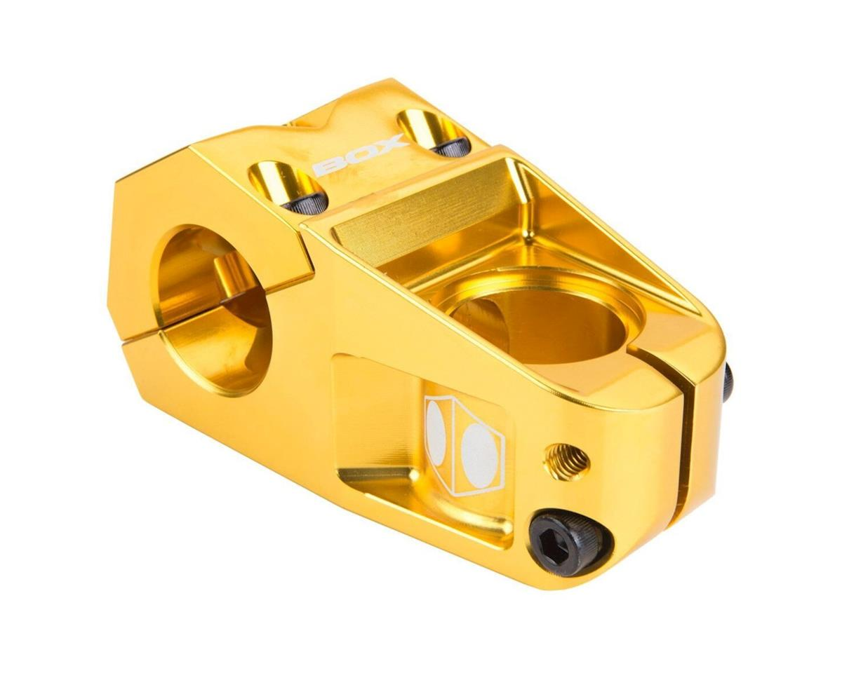 "Box Delta Top Load Stem (Gold) (1-1/8"") (31.8mm Clamp)"