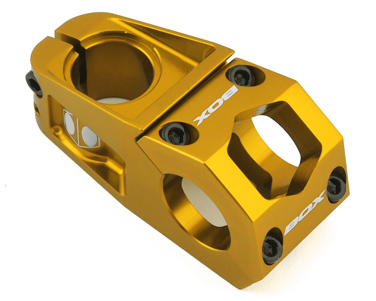 """Box Delta Top Load Stem (Gold) (1-1/8"""") (31.8mm Clamp) (60mm)"""