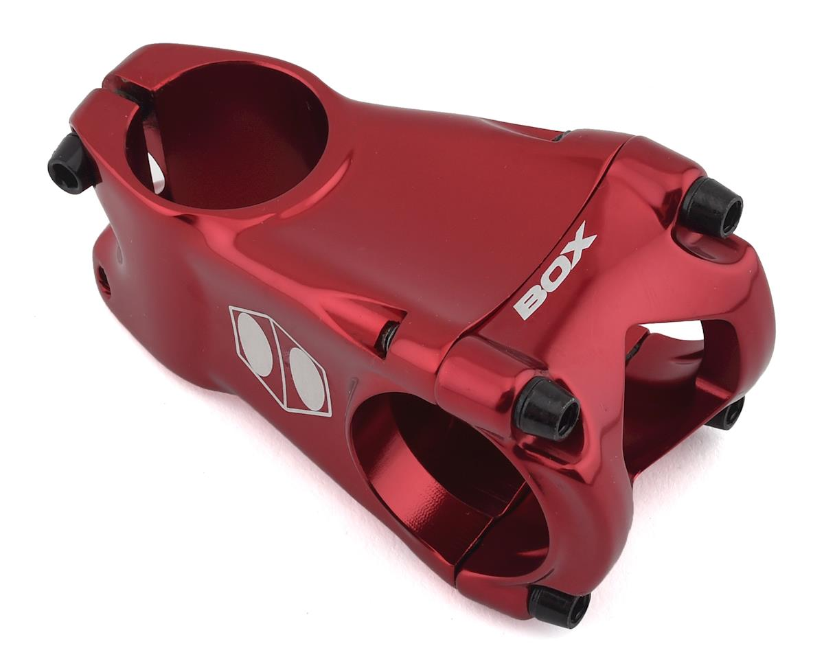 "Box Cusp Threadless Stem (1-1/8"") (35mm Clamp) (Red) (55mm)"