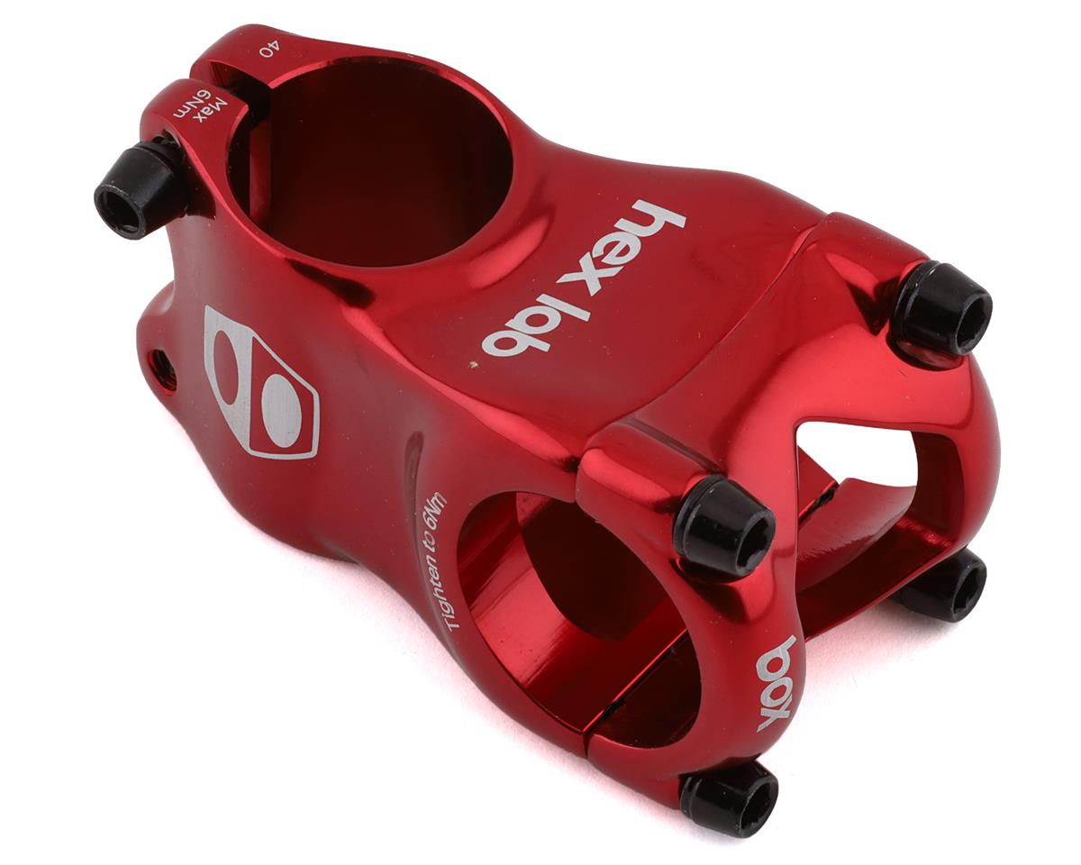 "Box BMX Stem (28.6mm Clamp) (1"") (Red) (40mm)"