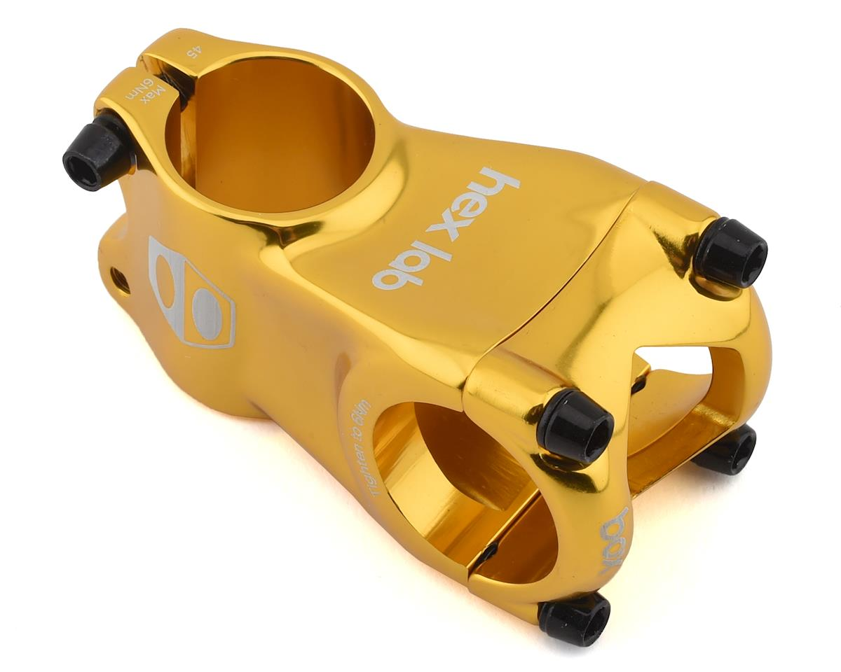"Image 1 for Box BMX Stem (1"") (Gold) (45mm)"