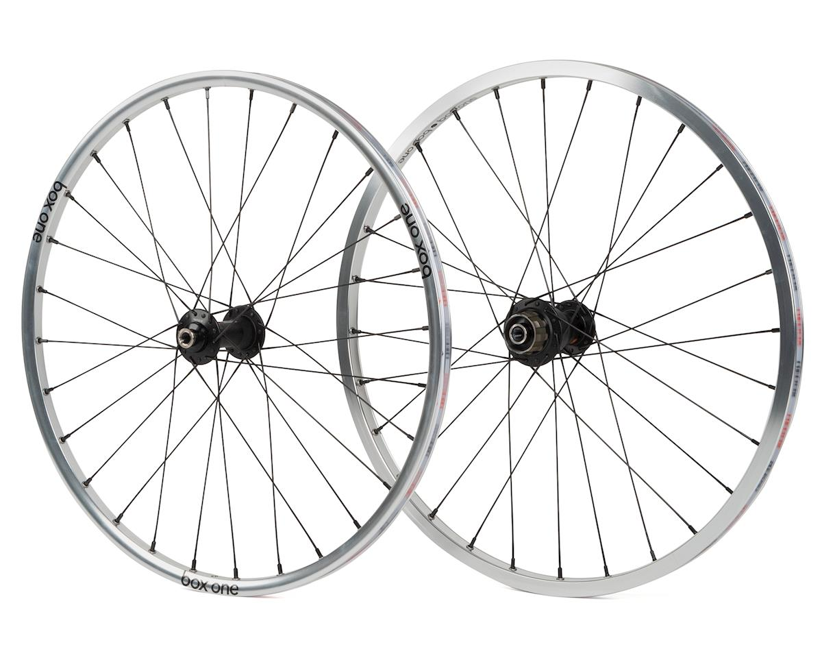Image 1 for Box One Stealth Expert BMX Wheelset (20 x 1-1/8) (Silver)